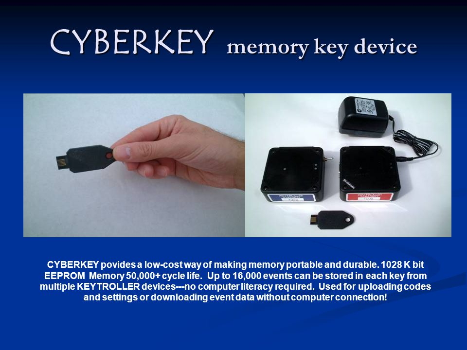 CYBERKEY memory key device