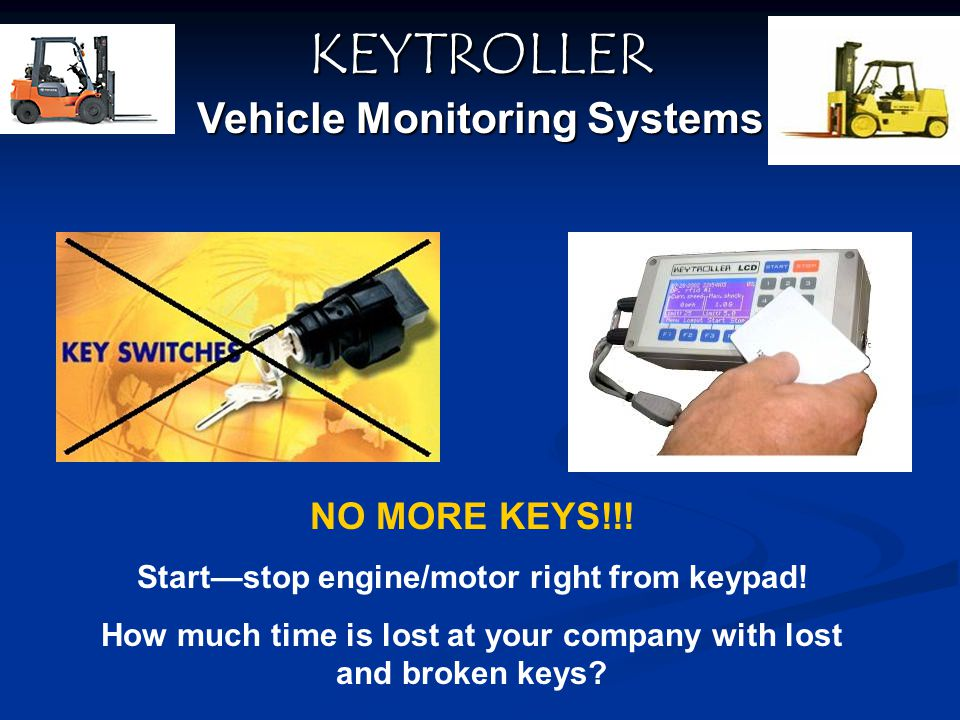 KEYTROLLER Vehicle Monitoring Systems