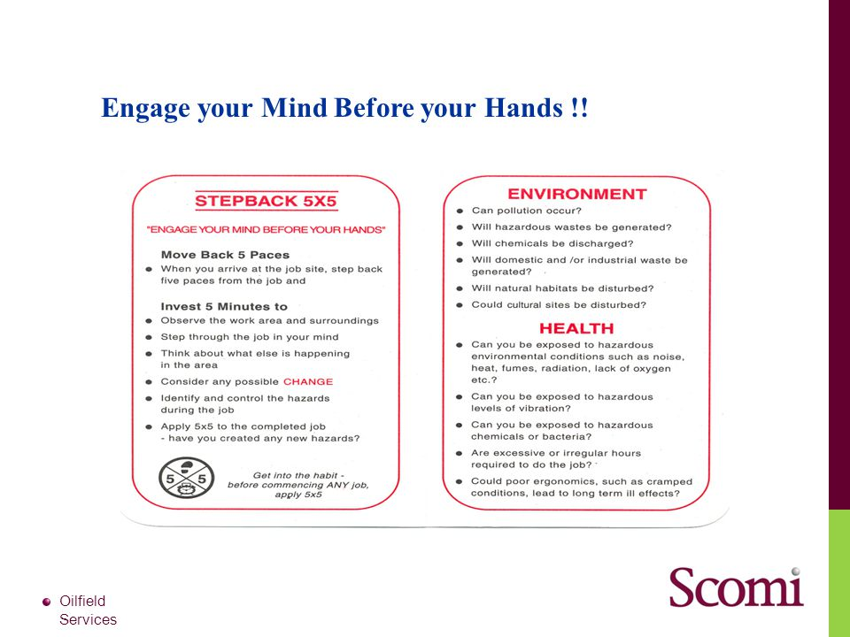 Engage your Mind Before your Hands !!