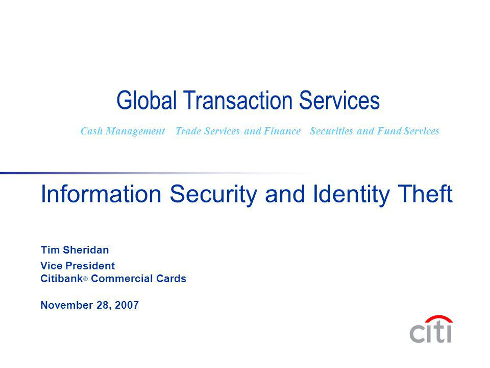 Global Transaction Services
