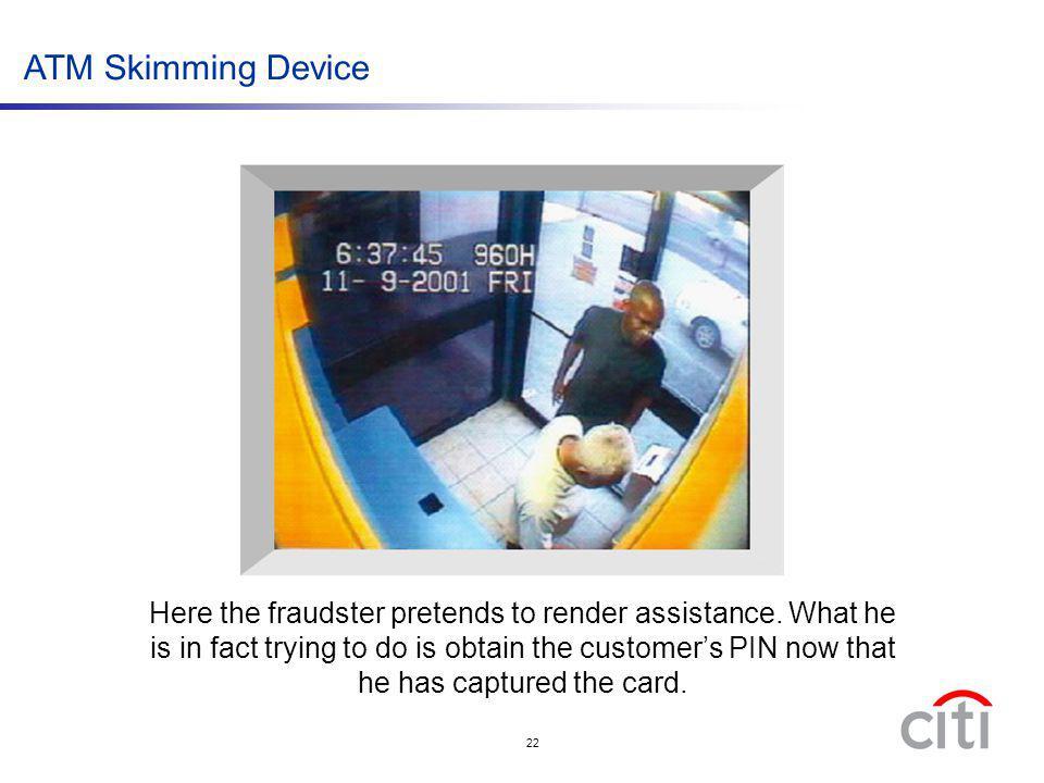 ATM Skimming Device