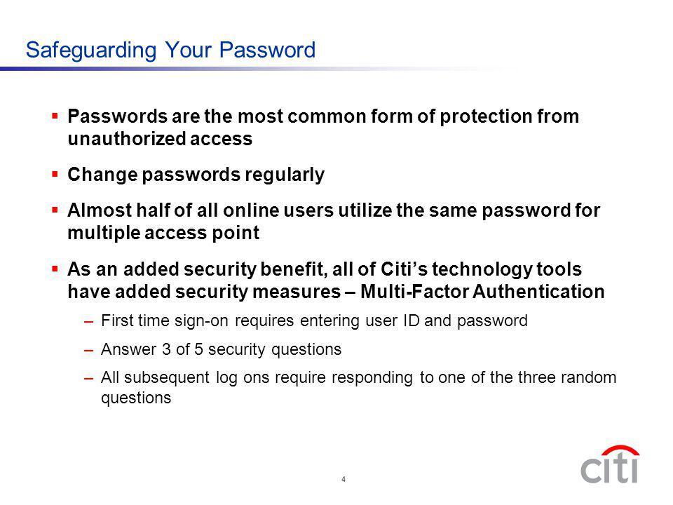 Safeguarding Your Password