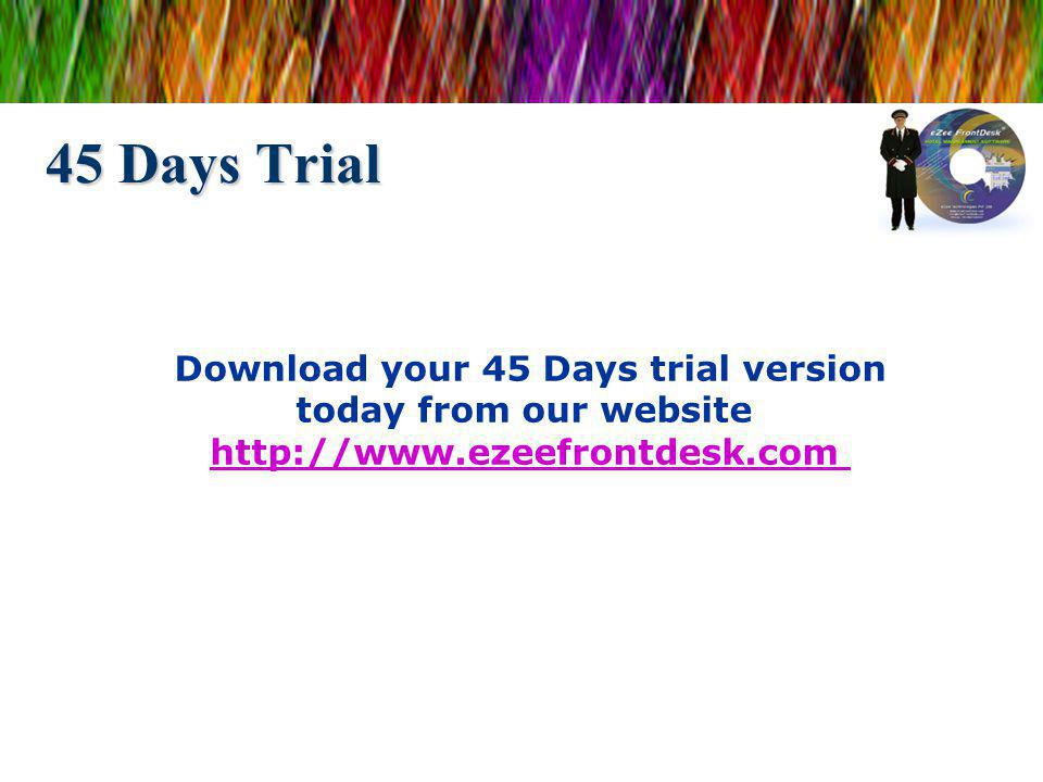 Download your 45 Days trial version