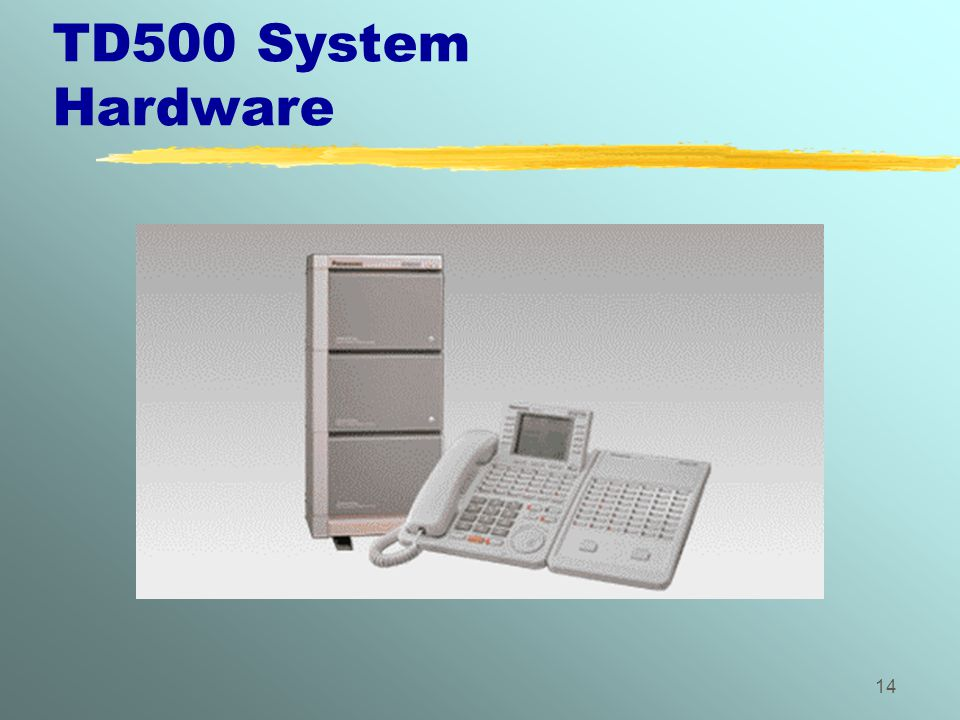 TD500 System Hardware