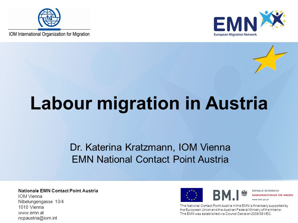 Labour migration in Austria