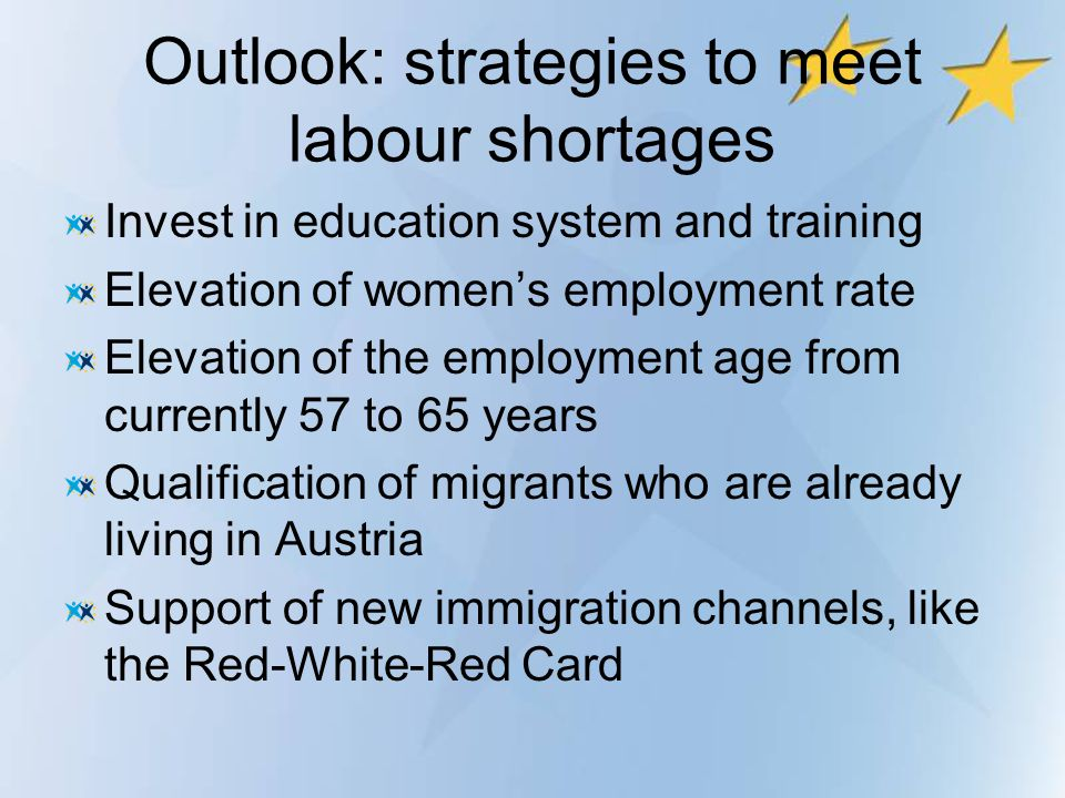 Outlook: strategies to meet labour shortages