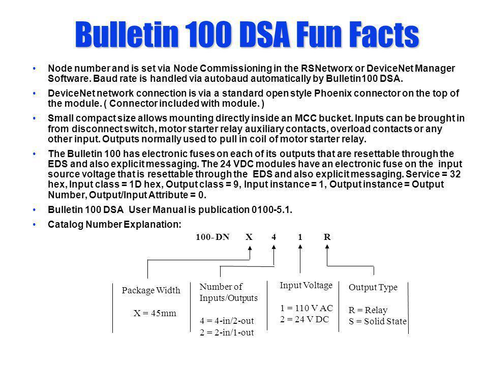 Bulletin 100 DSA Fun Facts