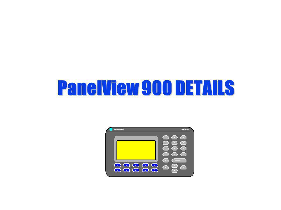 PanelView 900 DETAILS