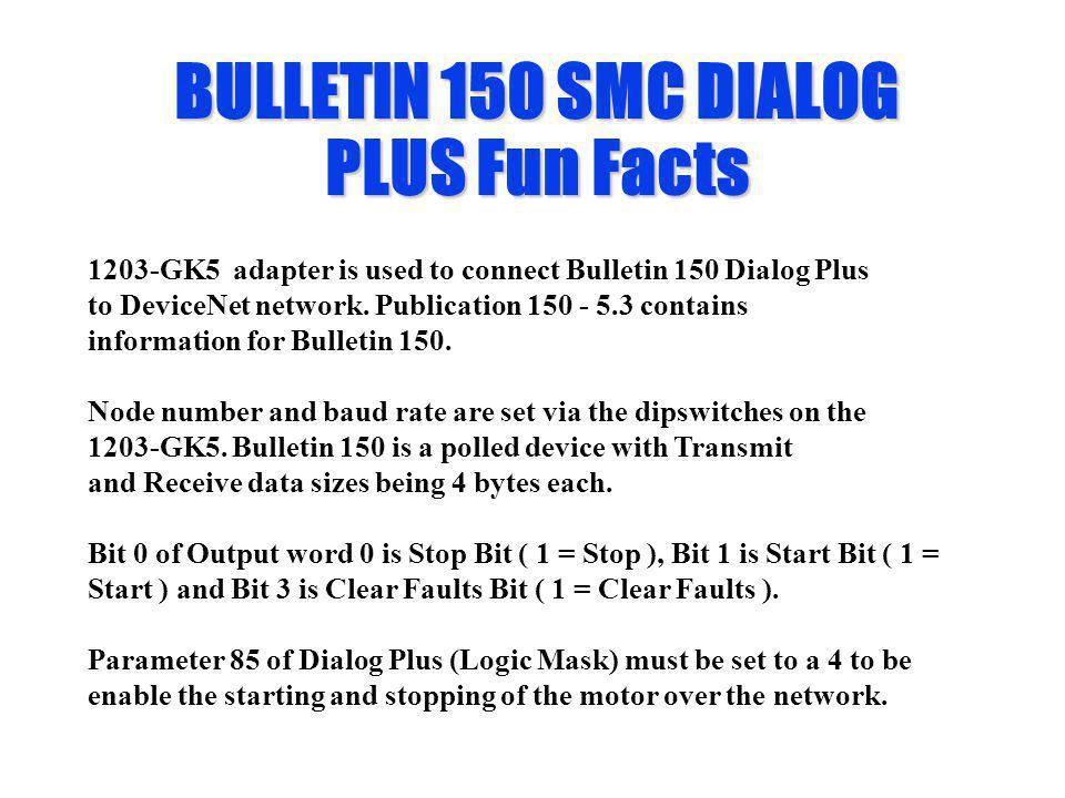 BULLETIN 150 SMC DIALOG PLUS Fun Facts