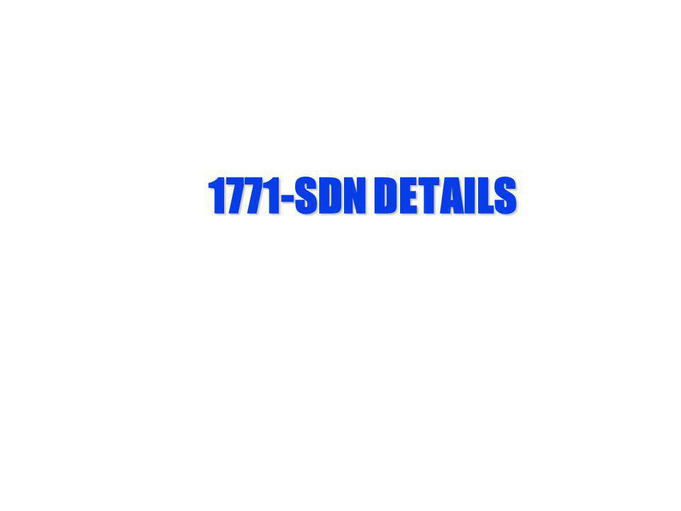 1771-SDN DETAILS
