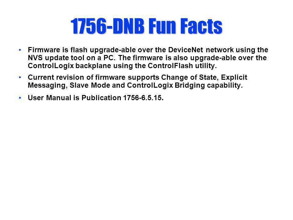 1756-DNB Fun Facts