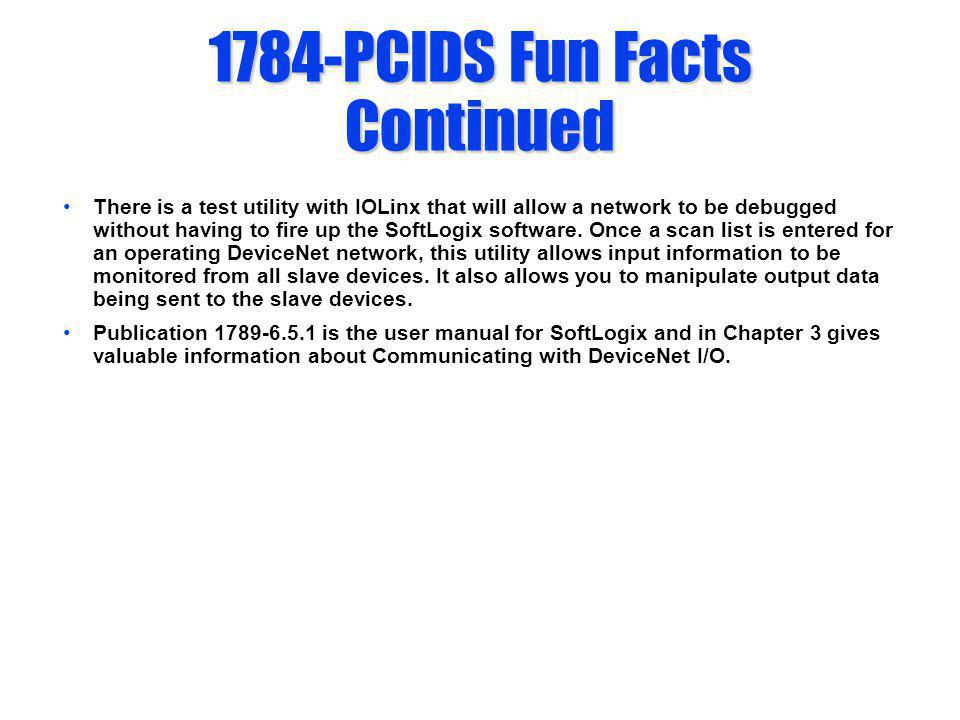1784-PCIDS Fun Facts Continued
