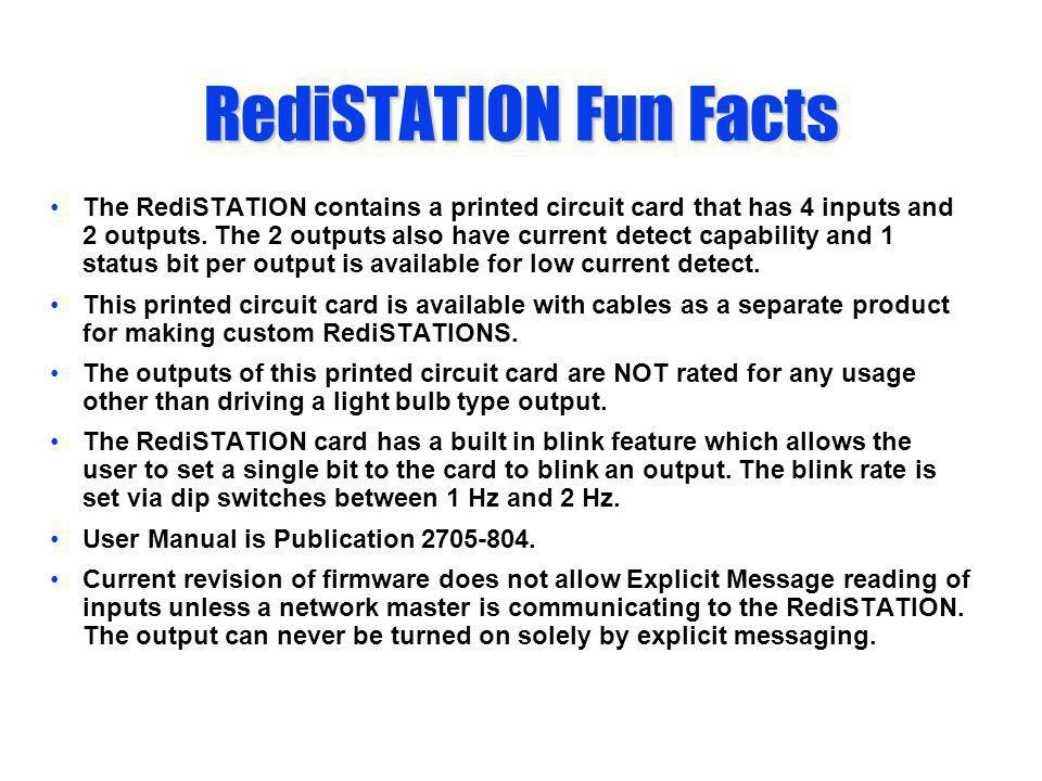 RediSTATION Fun Facts