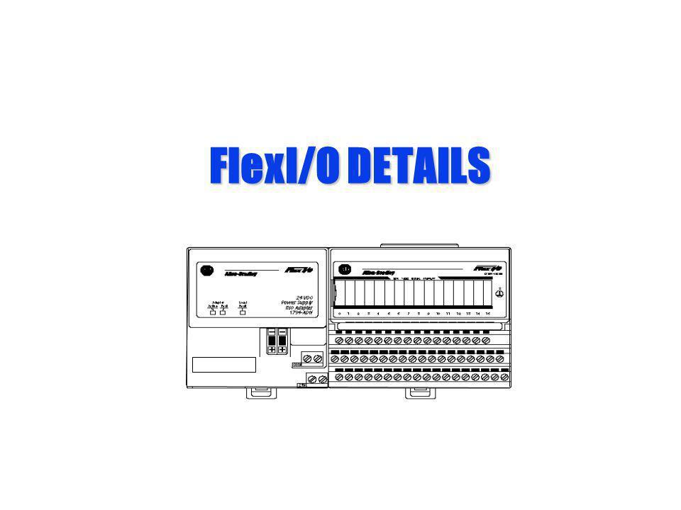 FlexI/O DETAILS