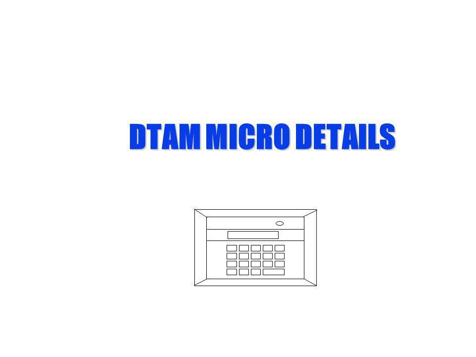 DTAM MICRO DETAILS