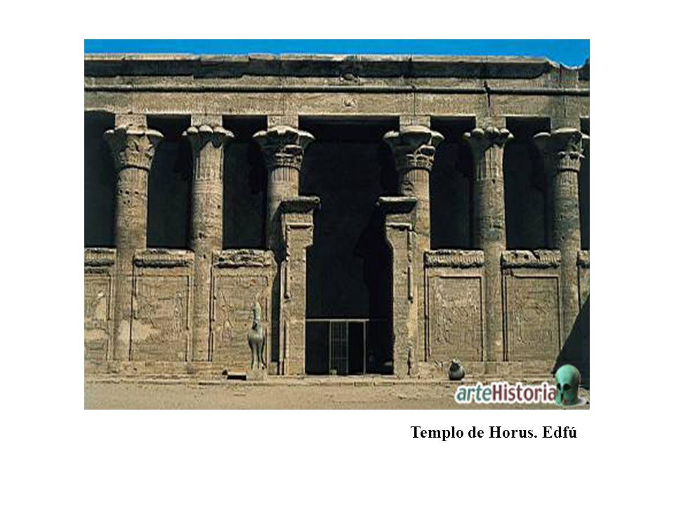 Templo de Horus. Edfú
