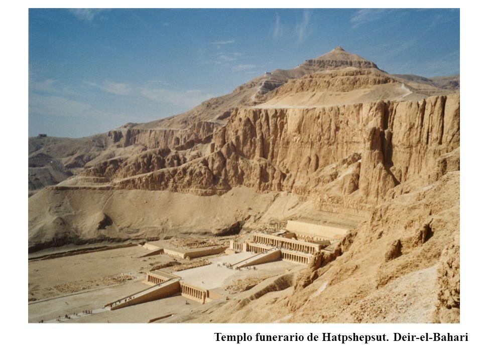 Templo funerario de Hatpshepsut. Deir-el-Bahari