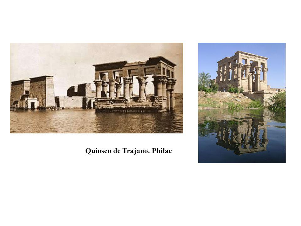 Quiosco de Trajano. Philae