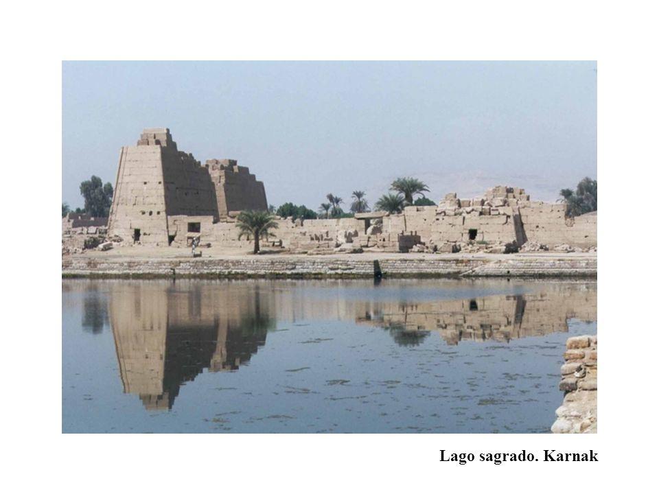 Lago sagrado. Karnak