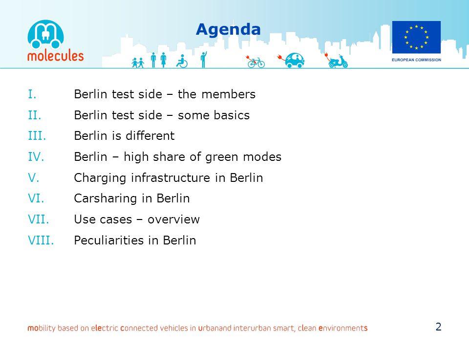 Agenda Berlin test side – the members Berlin test side – some basics
