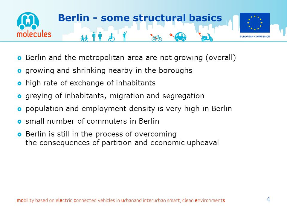 Berlin - some structural basics