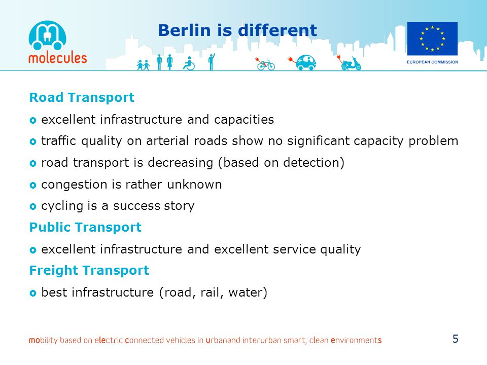 Berlin is different Road Transport
