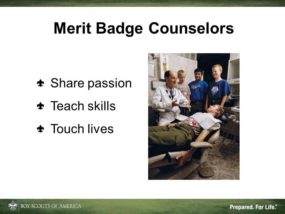 Merit Badge Counselors