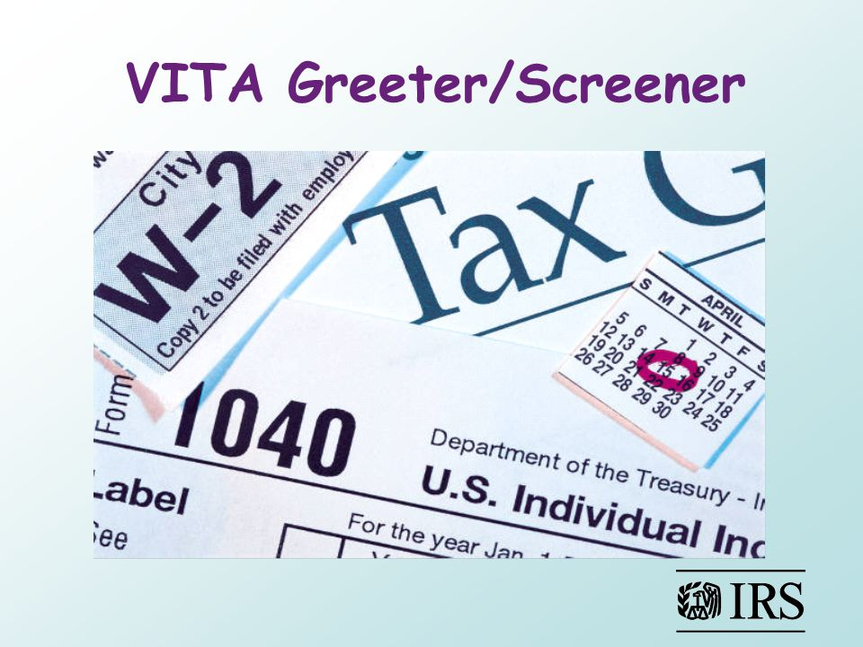 VITA Greeter/Screener