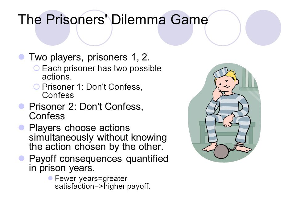 The Prisoners Dilemma Game