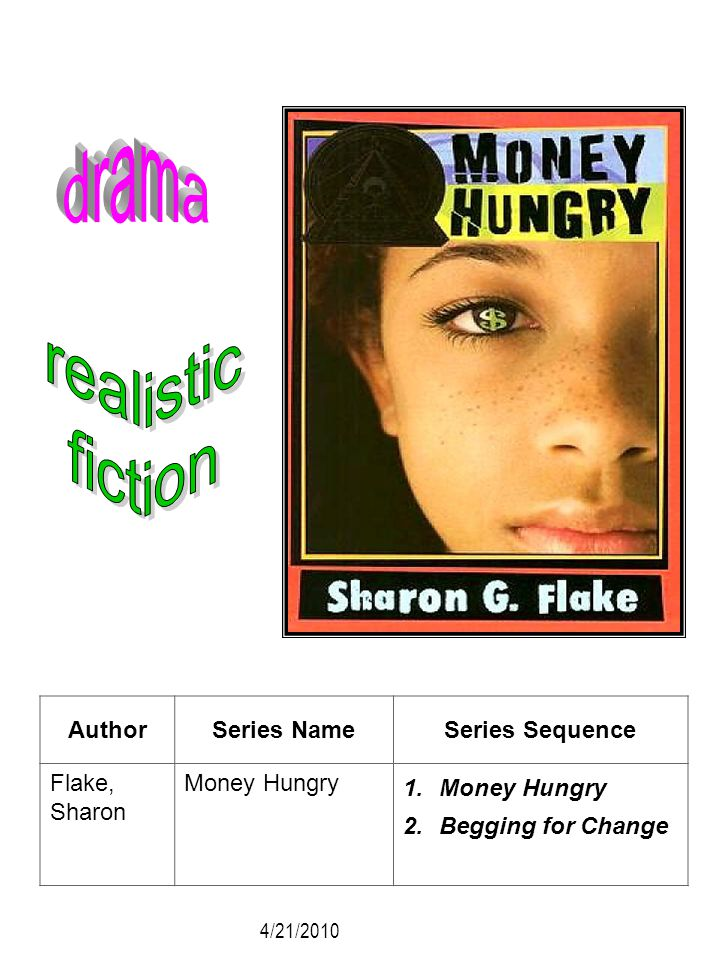 drama realistic fiction Author Series Name Series Sequence