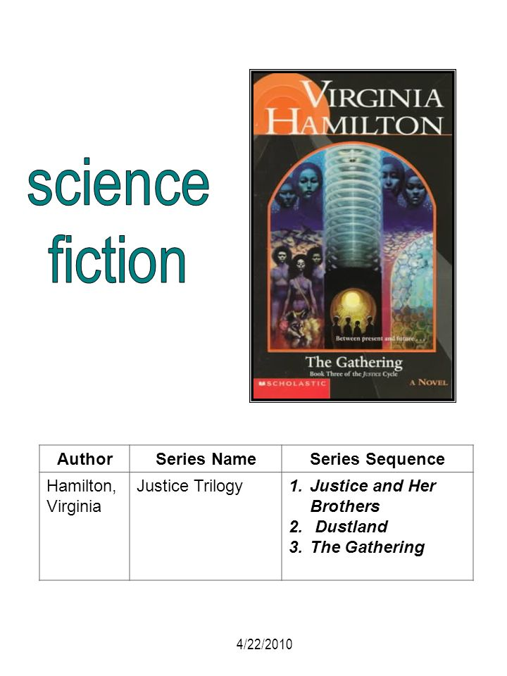 science fiction Author Series Name Series Sequence Hamilton, Virginia