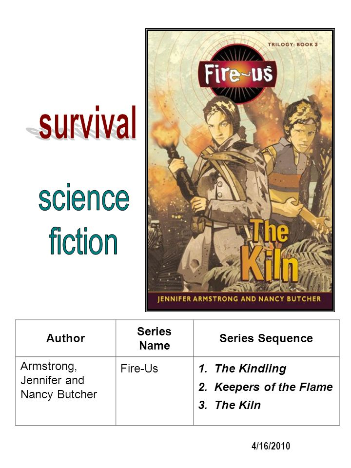 survival science fiction Author Series Name Series Sequence
