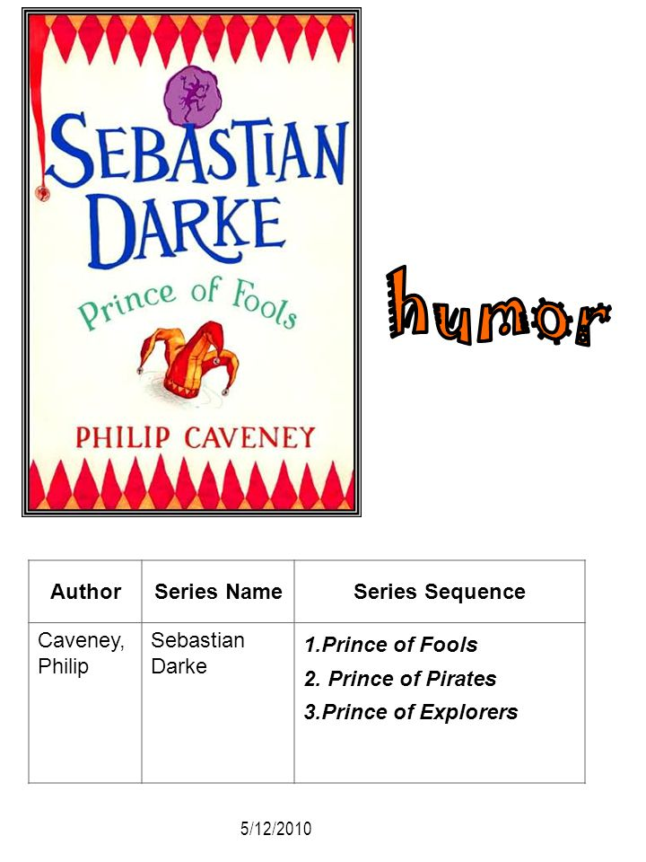 humor Author Series Name Series Sequence Caveney, Philip