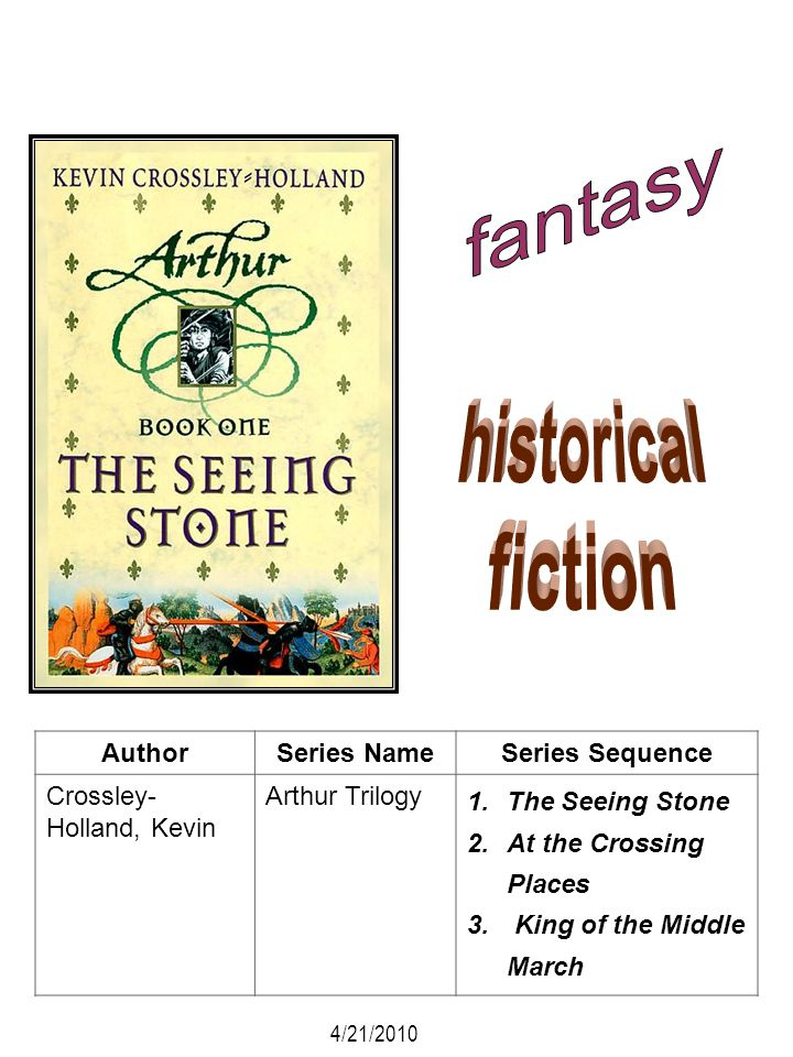 fantasy historical fiction Author Series Name Series Sequence
