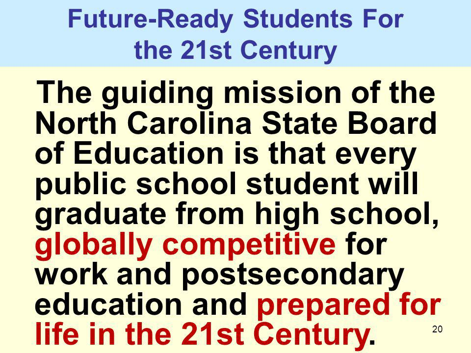 Future-Ready Students For the 21st Century