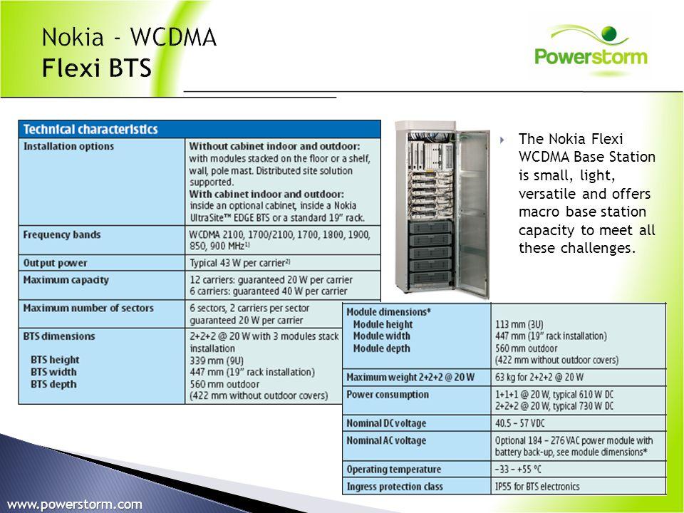 Nokia - WCDMA Flexi BTS