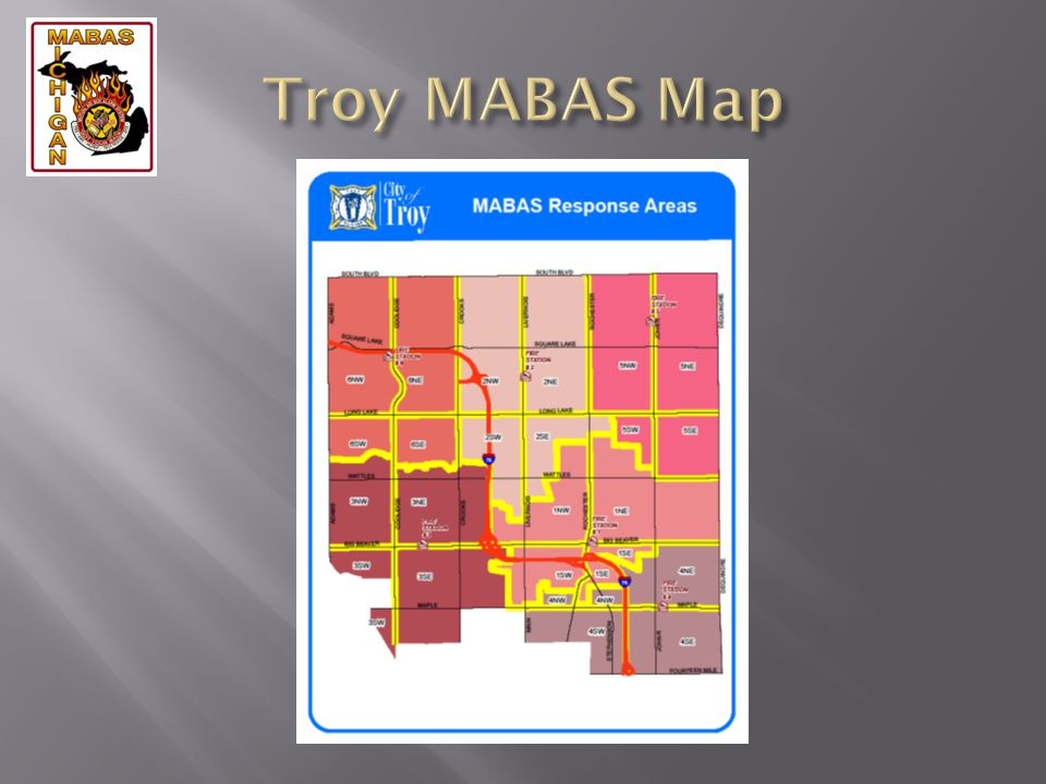 Troy MABAS Map
