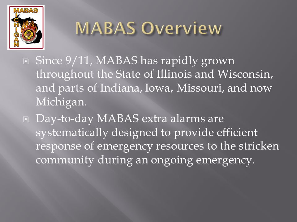MABAS Overview