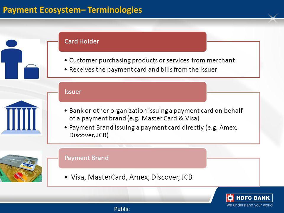 Payment Ecosystem– Terminologies