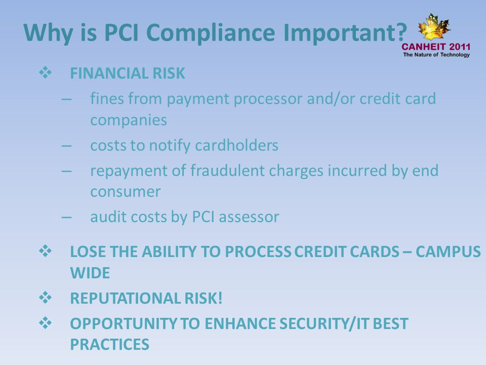 Why is PCI Compliance Important