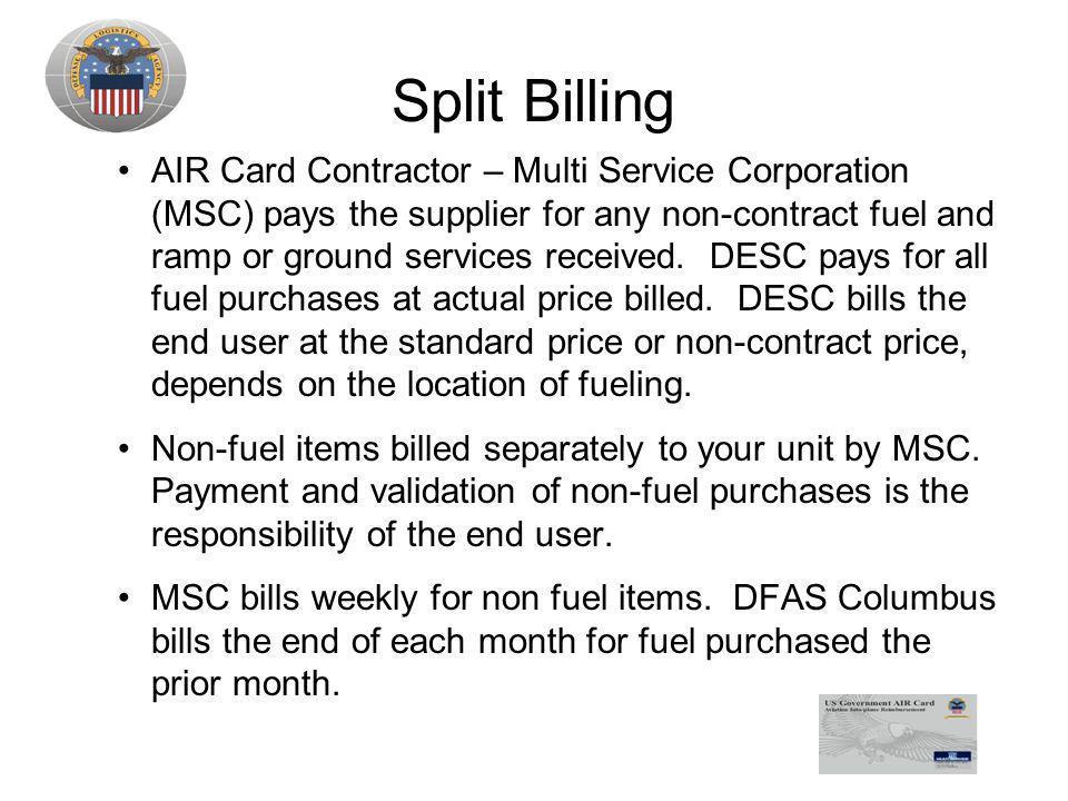Split Billing