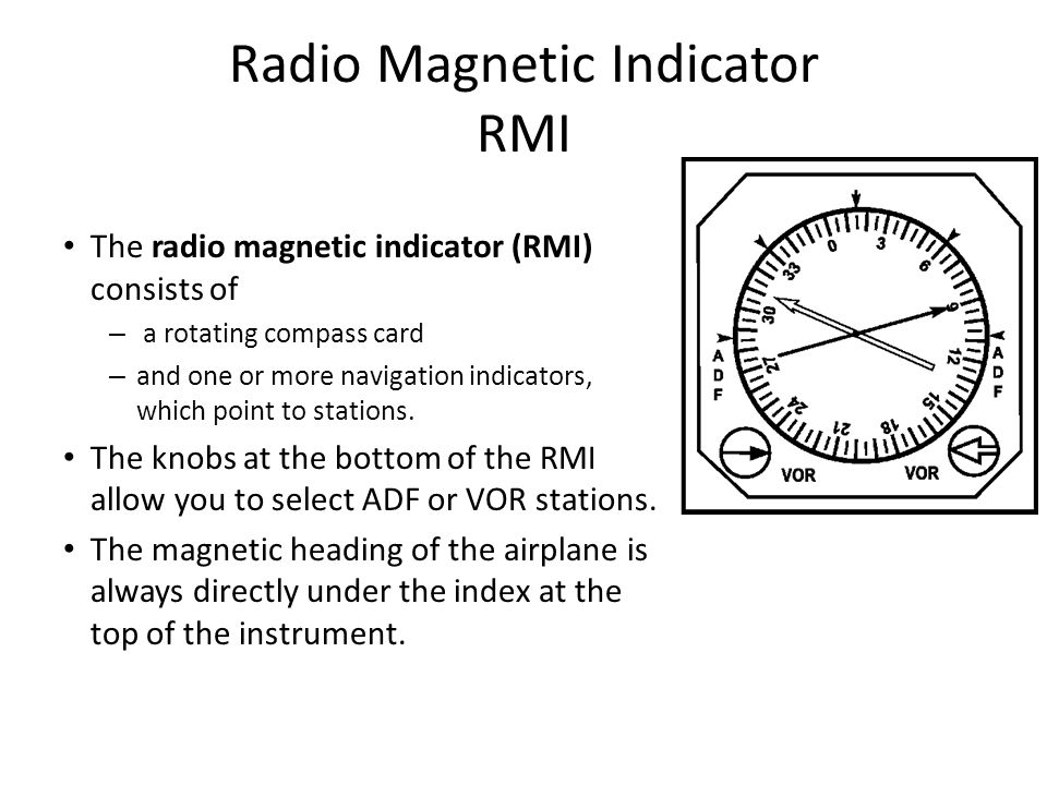 Radio Magnetic Indicator RMI