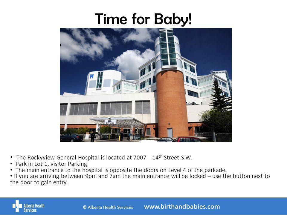 © Alberta Health Services www.birthandbabies.com