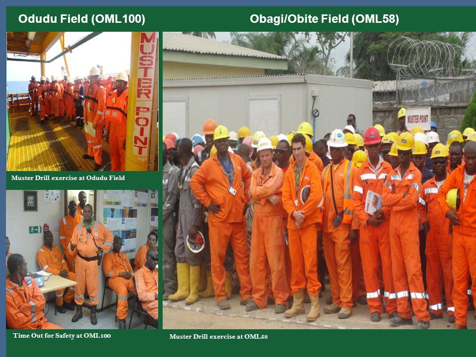 Odudu Field (OML100) Obagi/Obite Field (OML58)