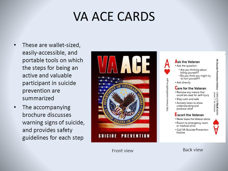 VA ACE CARDS