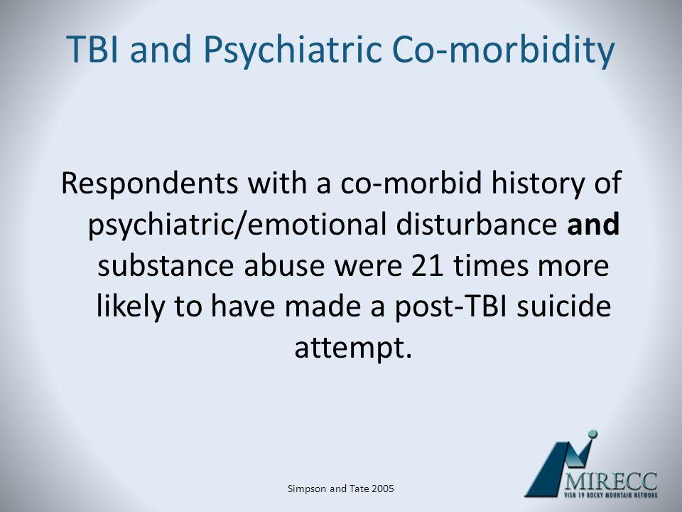 TBI and Psychiatric Co-morbidity