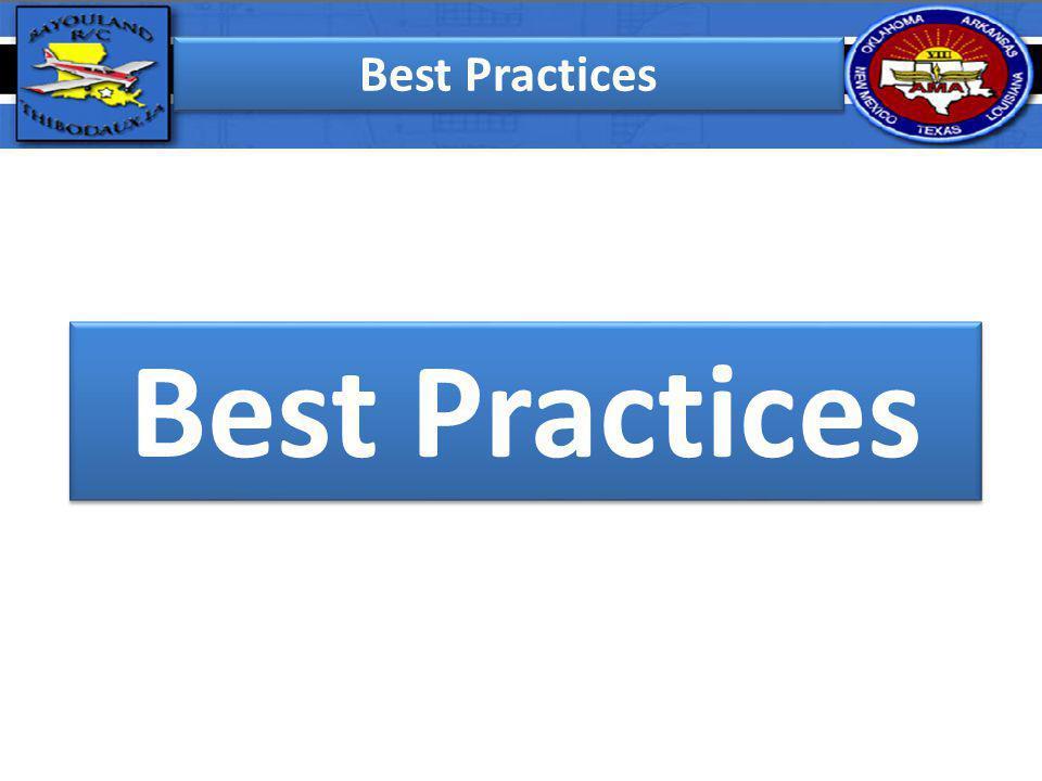 Best Practices Best Practices