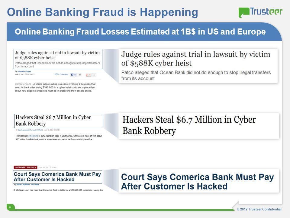 Online Banking Fraud is Happening