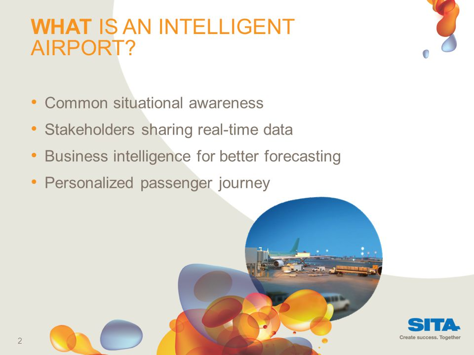 WHAT IS AN INTELLIGENT AIRPORT