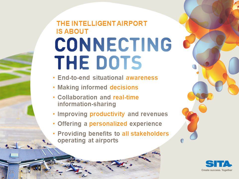 THE INTELLIGENT AIRPORT IS ABOUT
